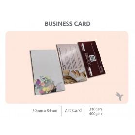 Business Card Art Card