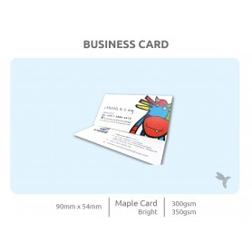FSC Certified Card: Single Side Printing (100pcs per QTY)