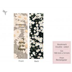 BOOKMARK : Laminate Finishing: Double Side Printing (100pcs)