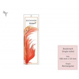 BOOKMARK : FSC Certified/ Recycled Card: 300gsm : Single Side Printing