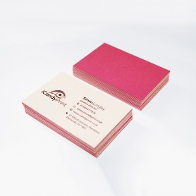 Color Plan Business Card: Single Side Printing (100pcs per QTY)