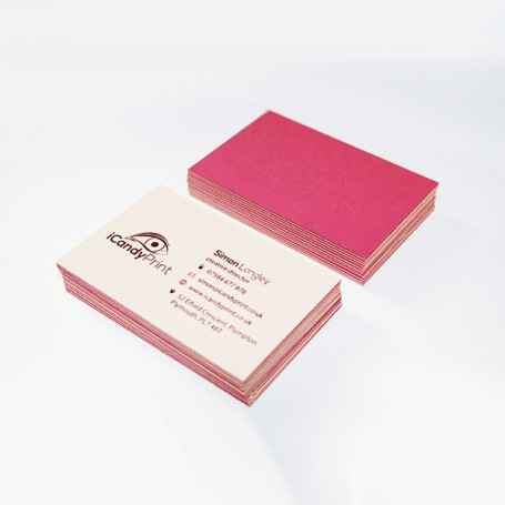 Color Plan Business Card: Single Side Printing (100pcs per QTY)