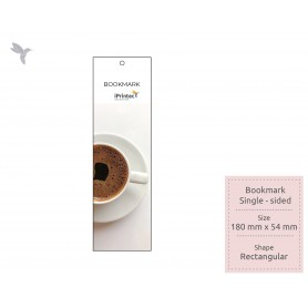 BOOKMARK : FSC Certified/ Recycled Card: 350gsm : Single Side Printing