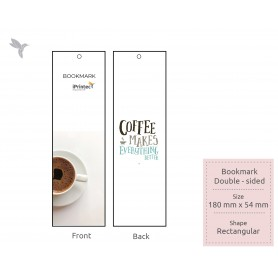 BOOKMARK : FSC Certified/ Recycled Card: 350gsm : Double Side Printing