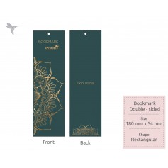 BOOKMARK : Touché Series : Double Side Printing (100pcs)