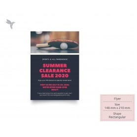 FLYER: A5 - Single Side - Simili Paper 80gsm