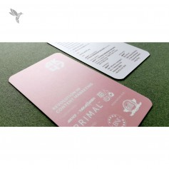 BUSINESS CARD (Art Card 310gsm) : Laminate Finishing : Double Side Print (100pcs)