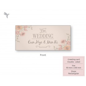 GREETING CARD :  Normal Card : Double Side Printing