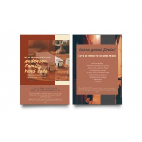 FLYER: A3 - Double Side - Simili Paper 80gsm