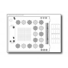 PLAN PRINTING : B&W - A2 Size
