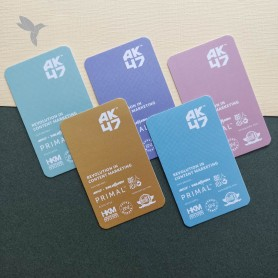 BUSINESS CARD (Art Card 350gsm) : Laminate Finishing : Single Side Print (100pcs)