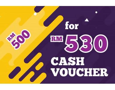 Cash Voucher RM 530